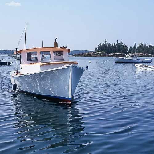 Sunrise Lobster Boat